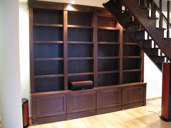 Книжные шкафы для дома