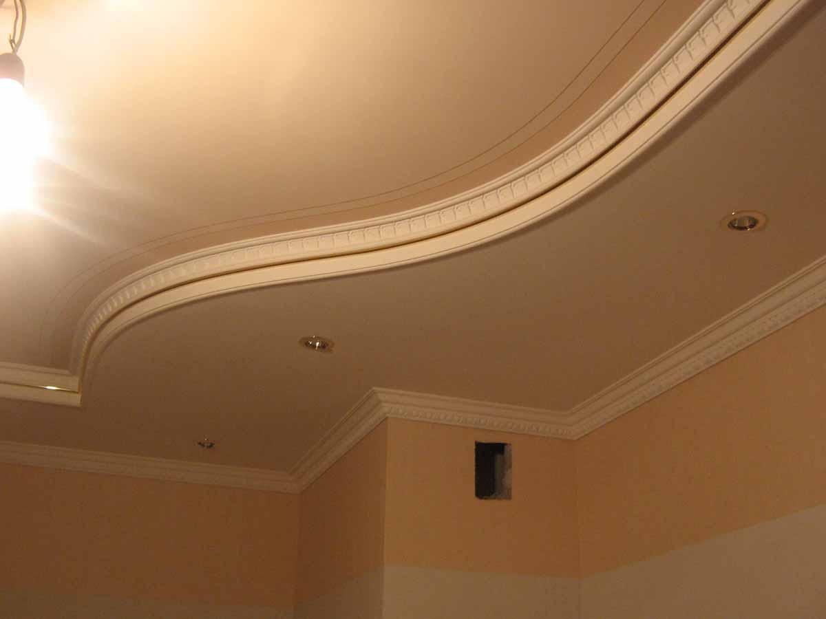 Фото гипсокартонных потолков в квартире